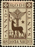 Rhodes Scott #75, 1935, Hinged - Ägäis (Rodi)
