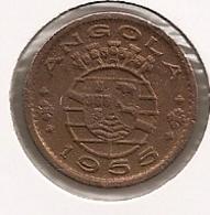 ANGOLA 50 CENTAVOS 1955 TRES RARE - Angola