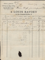 Louis Ravoet - Leuven - Louvain - Magasin De Toiles - Maastricht - Valkenburg - Willem III - 1897 - Bonhomme - België