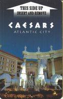 Caesars Casino - Atlantic City, NJ - Hotel Room Key Card - Hotel Keycards