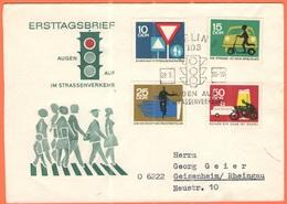 GERMANIA - GERMANY - Deutschland - ALLEMAGNE - DDR - 1966 - Augen Auf Im Strassenverkehr - FDC - Viaggiata Da Berlin Per - [6] Democratic Republic