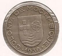 MOCAMBIQUE  Mozambique 1$ ESCUDO 1936 - Mozambique
