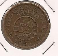 MOCAMBIQUE  MOZAMBIQUE 1$ ESCUDO 1957 - Mozambique