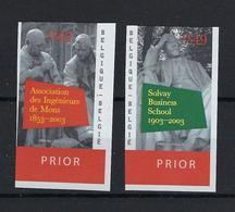 N°3160ND/3161ND (genummerd 392) MNH ** POSTFRIS ZONDER SCHARNIER COB € 20,00 SUPERBE - Belgique