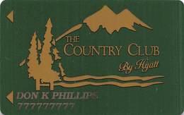 Hyatt Regency Casino - Lake Tahoe, NV - 2nd Issue Slot Card - Space Between Reverse Text & Logo - Casinokarten