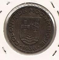 MOCAMBIQUE Mozambique  $50 CENTAVOS 1936 TRES RARE DANS CETTE ETAT - Mozambique
