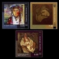 Ukraine 2018 Mih. 1708/10 Paintings. Love Is Life! MNH ** - Ukraine