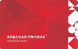Sochi Casino / Krasnaya Polyana Game Zone - Sochi Russia - Players / Slot Card  ...[RSC][FSC]... - Casinokarten