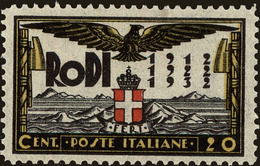 Rhodes Scott #66, 1932, Never Hinged - Ägäis (Rodi)