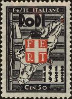 Rhodes Scott #69, 1932, Never Hinged - Ägäis (Rodi)