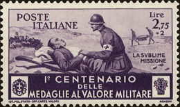 Italy Scott #341, 1934, Hinged - 1900-44 Victor Emmanuel III.