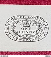 Grande Bretagne. RARE Timbre Revenu Fiscal 1902 Pour Journal Londres  Illustration Royal - Revenue Stamps