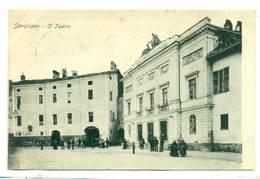 Italy Savigliano Il Teatro 1911 R - Cuneo
