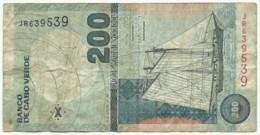 CAPE VERDE - 200 ESCUDOS - 20.01.2005 - P 68 - PALHABOTE ERNESTINA - Cabo Verde