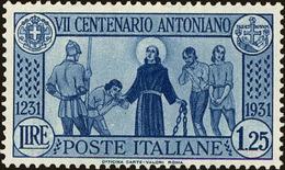 Italy Scott #262, 1931, Hinged - 1900-44 Victor Emmanuel III.