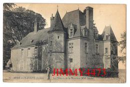 CPA - Le Château De La Massuère - BESSE SUR BRAYE ( Canton De Saint Calais ) 72 Sarthe - Edit. L. P. G. N° 5 - Saint Calais