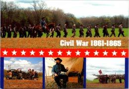 Civil War Reenactments Multi View - Militaria