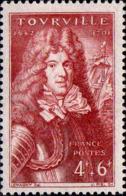 France Poste N** Yv: 600 Mi 612 Yv:1 Euro Anne-Marie De Cotentin Comte De Tourville - France