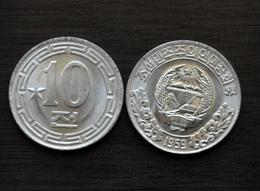 1959 KOREA 10 Chon (1 Star, ☆) Km11 UNC COIN CURRENCY SOCIALISM ASIA - Korea (Nord-)