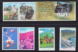 JAPAN, 6 MNH STAMPS - Collezioni & Lotti
