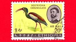 ETIOPIA - Usato - 1967 - Uccelli - Birds - Blue-winged Goose (Cyanochen Cyanoptera) - 20 P. Aerea - Etiopia