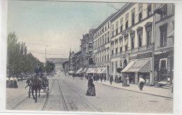 Oslo - Strasse Mit Geschäften - Um 1910 - Norwegen