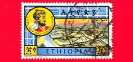 ETIOPIA - Usato - 1964 - Grandi Leader Etiopi II - Yassu, Imperatore Dal 1682-1706 - 20 - Etiopia