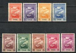 Timor 1938. Yvert A 1-9 (ref 4) See Two Images ** MNH. - Timor