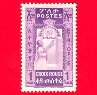 ETIOPIA - Nuovo - 1936 - Nurse & Baby - Croce Rossa - 1 +1 - Non Emesso - Etiopia