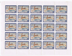 1960, Russia, Stamp, SHEET,  Fauna, Animals, Hare , Rabbit , - 1923-1991 URSS
