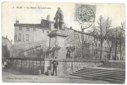 Albi La Statue De Lapérouse - Albi