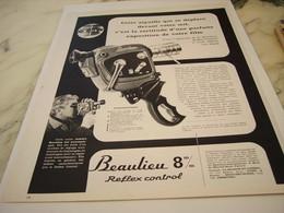 ANCIENNE  PUBLICITE TOUT DE SUITE LA  BEAULIEU   1963 - Autres Collections