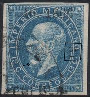 MEXICO - 1866, MAXI.- 13c. 46-1866, PUEBLA, SUB-31, SAN MARTIN TEXMELUCAN, RARE  USED! - Mexico
