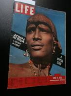 Life Vol.14 N° 12 (15 June 1953) : Africa A Continent In Ferment : Congo, Kenya, - Histoire