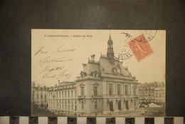 CP, 92,  LEVALLOIS PERRET : HOTEL DE VILLE -N°5 Bourdais Et Raymond - Levallois Perret