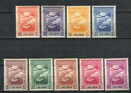 Santo Tomé E Principe 1938. Yvert A 10-18 Ref 2 (see Two Images) ** MNH. - St. Thomas & Prince