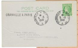 18359 - Ambulant GRANVILLE A PARIS  2° - Storia Postale
