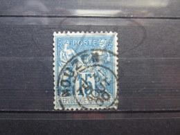 """VEND BEAU TIMBRE DE FRANCE N° 101 , OBLITERATION """" NOUZON """" !!! - 1876-1898 Sage (Type II)"""