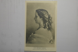Cpa HIM Empress Eugenie From The Painting By Winterhalter - TOR08 - Personnages Historiques