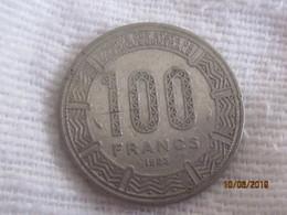 Congo-Brazzaville: 100 Francs 1983 - Congo (Republiek 1960)