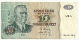 Finlande 10 Suomen Pankki 1980 - Finlandia