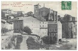 Gaillac Bords Du Tarn Eglise St-Michel Et Pont Suspendu - Gaillac