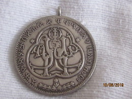 Haile Selassie Coronation Medal (40 Mm) Silver - Jetons & Médailles