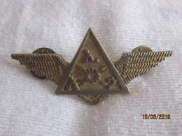 Ethiopie: Badge Ethiopian Airforce Sous Le Derg (rare) - Aviation