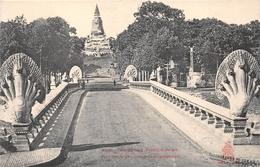 ¤¤  -  CAMBODGE   -  PHNOM-PENH   -  Pont Des Nagas ( Serpents Polycéphales )  -  ¤¤ - Cambodja