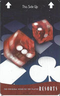 Resorts Casino - Atlantic City NJ - Hotel Room Key Card - Hotel Keycards