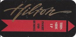 Hilton Casino - Atlantic City NJ - Narrow Hotel Room Key Card - Hotel Keycards