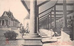 ¤¤  -  CAMBODGE   -  PHNOM-PENH   -  Pagode Royale - Galerie Royale  -  ¤¤ - Cambodja