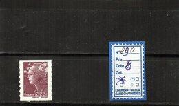 Autoadhésifs - N° 290 - Adhesive Stamps