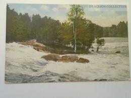 D164150 Suomi Finland - IMATRA -Tila Kirjoitukselle - För Skriftliga Meddelanden  -466 Edv. Ropponen, Imatra - Finland